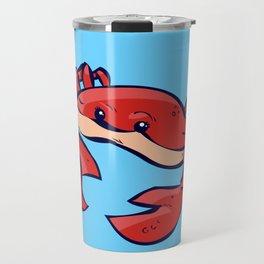 red crab Travel Mug
