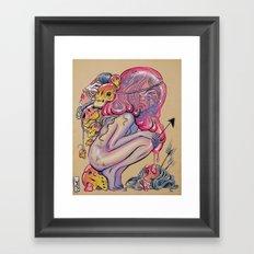 Head Hunter Framed Art Print