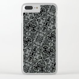 Gothic Clear iPhone Case