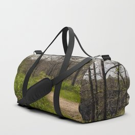 Troubled summer woods Duffle Bag
