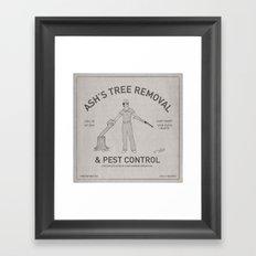 Ash's Classified Ad Framed Art Print