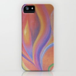 Sensual flower iPhone Case