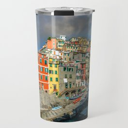 Cinque Terre, Italy (Houses on the Cliff) Travel Mug