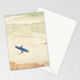 Margin Walker. surfer photograph Hermosa Beach Stationery Cards