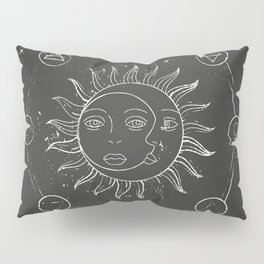 Moon, sun and elements Pillow Sham