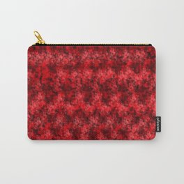 Red Pixel Design Carry-All Pouch