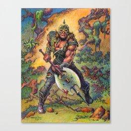 The Darkslayer (Venir) - Full color Forest Scene Canvas Print