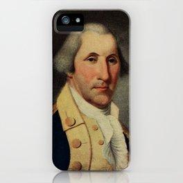 Peale, Charles Willson (1741-1827) - Scribner's 48 1910 - George Washington iPhone Case