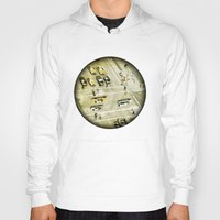 escher Hoodies featuring Escher Intersection by Vin Zzep