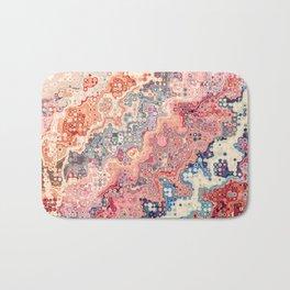 Abstract Bumpy Glass Bath Mat