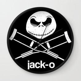 jack-o Wall Clock