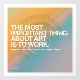 DAY 3000 (07.18.15) Art Print
