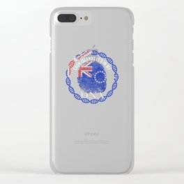Cook Itslands Its In My DNA Clear iPhone Case