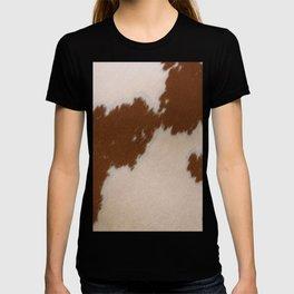 Light Brown Cowhide T-shirt