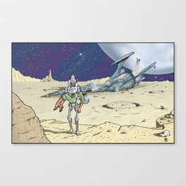 Steel Rescue Canvas Print