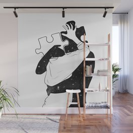 The puzzle love. Wall Mural