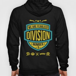 The emblem of rugby team in retro style Hoody