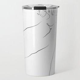 'Reach', Dancer Line Drawing Travel Mug