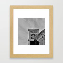 Caesars Palace ,Las Vegas, Sign Framed Art Print