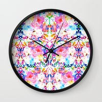 arab Wall Clocks featuring Arab Sunset by Yaz Raja Designs
