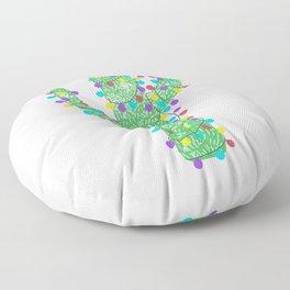 Festive Cactus Floor Pillow