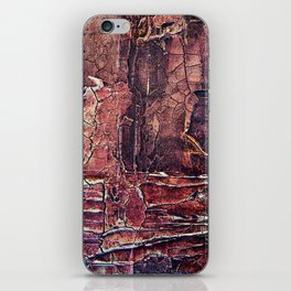 Distressed Work Acrylic Abstract Painting iPhone Skin