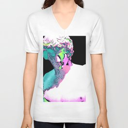Eraserhead- graphic novel Unisex V-Neck