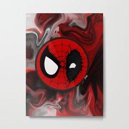 Superhero mashup Metal Print