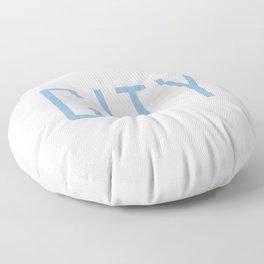 City Powder Blue Floor Pillow