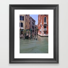 When Venezia Sleeps. Framed Art Print