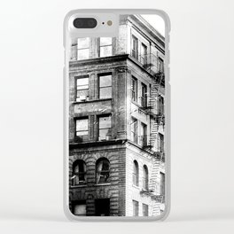 Exploring The City Clear iPhone Case