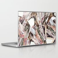 elegant Laptop & iPad Skins featuring Arnsdorf SS11 Crystal Pattern by RoAndCo