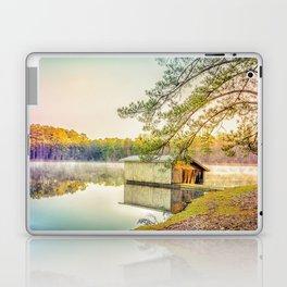 Lakescape at Sunrise Laptop & iPad Skin