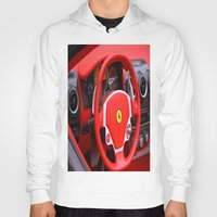 ferrari Hoodies featuring Ferrari Fizz by Scattered_Stars