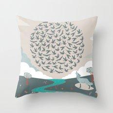 QQ Throw Pillow