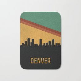 Denver Skyline Bath Mat