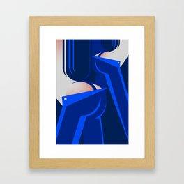 Blue Jeans 3/3 Framed Art Print