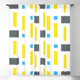 Pattern of Squares - Color Blackout Curtain