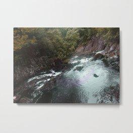 River Vally (Wales) Metal Print
