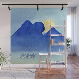 Giza By Moonlight Wall Mural