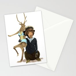 Happy Sailor Stationery Cards