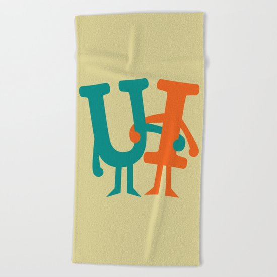 You and I Beach Towel