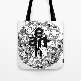 Earth with Art Tote Bag