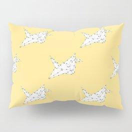 Origami Crane Pillow Sham