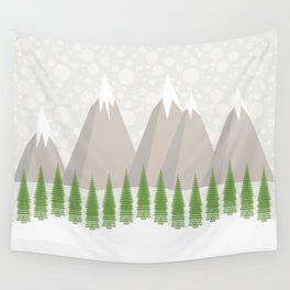 Waiting for Christmas Wall Tapestry