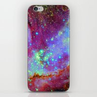 nursery iPhone & iPod Skins featuring Stellar Nursery by Starstuff