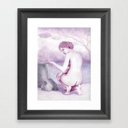The Bather Framed Art Print