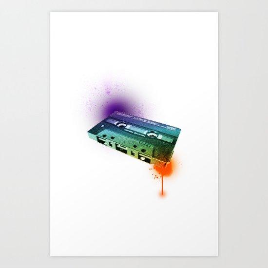 Tapes Art Print