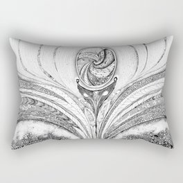 Pineal Gland - Cosmic activation Rectangular Pillow