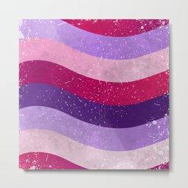 Ultra violet stripes 02 Metal Print